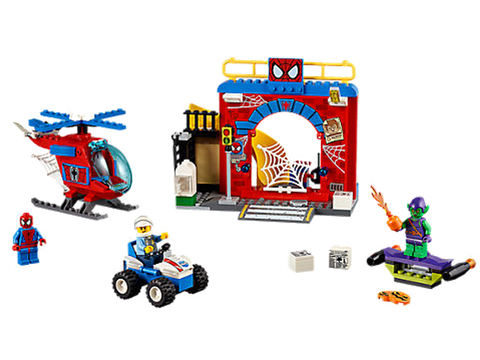 LEGO 10687 Juniors Spider-Man Hideout