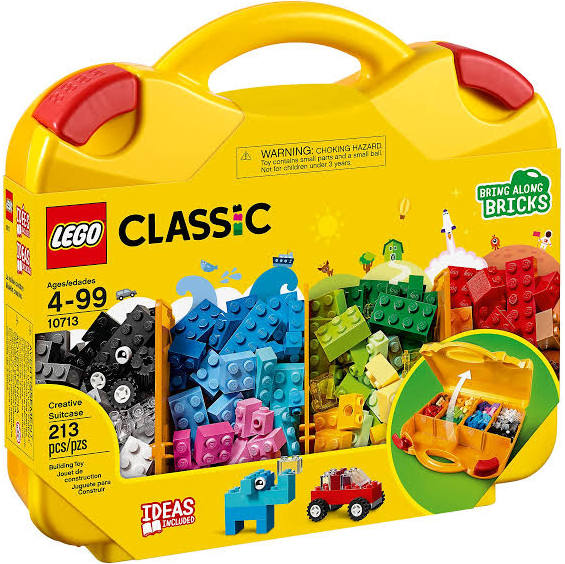 LEGO® 10713 Classic Creative Creative Suitcase - My Hobbies