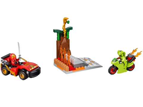 LEGO 10722 Juniors Snake Showdown