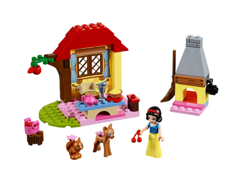 LEGO 10738 Juniors Snow White's Forest Cottage