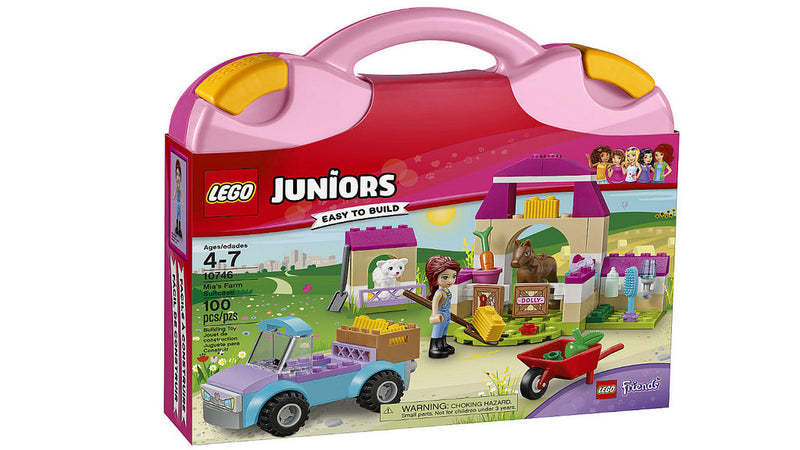 LEGO® 10746 Juniors Mia's Farm Suitcase - My Hobbies