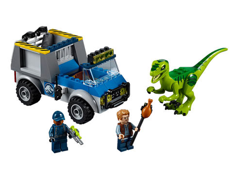 LEGO 10757 Juniors Raptor Rescue Truck