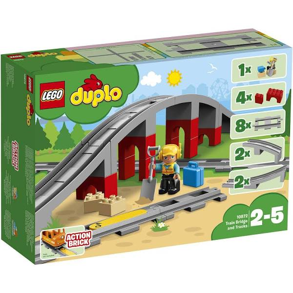 Lego 10872 DUPLO Train Bridge and Tracks - My Hobbies