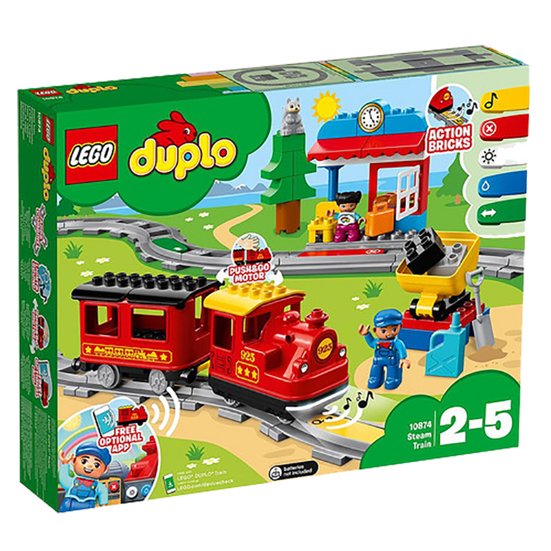 LEGO® 10874 DUPLO® Steam Trains - My Hobbies