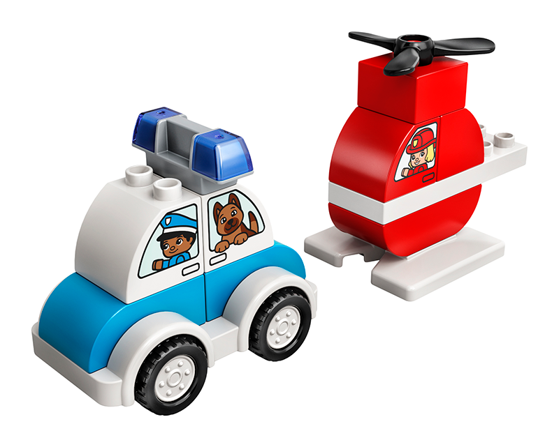 LEGO 10957 Fire Helicopter & Police Car - My Hobbies