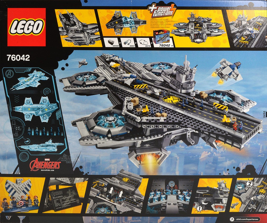 how to get to the helicarrier in lego marvel superheroes