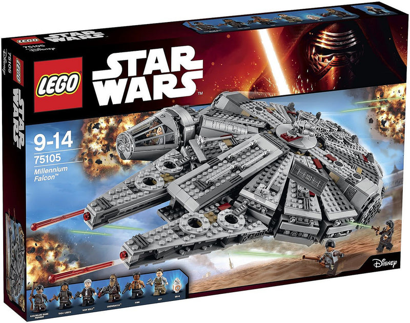 LEGO 75105 Star Wars MILLENIUM FALCON - My Hobbies