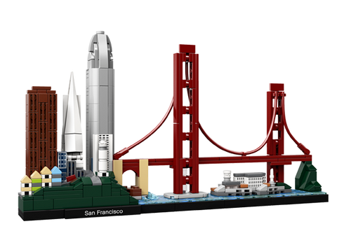 LEGO 21043 Architecture San Francisco