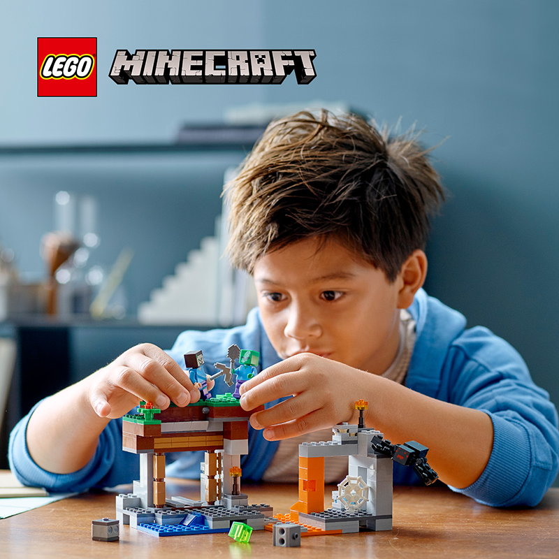 "LEGO 21166 Minecraft™ The ""Abandoned"" Mine - My Hobbies"