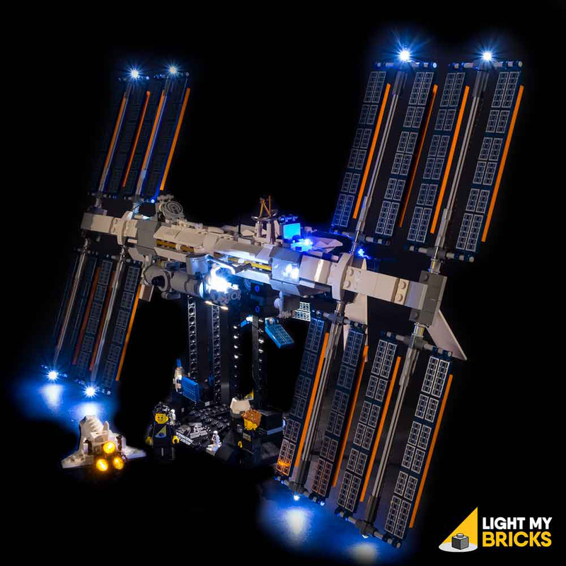 LEGO International Space Station 21321 Light Kit (LEGO Set Are Not Included ) - My Hobbies