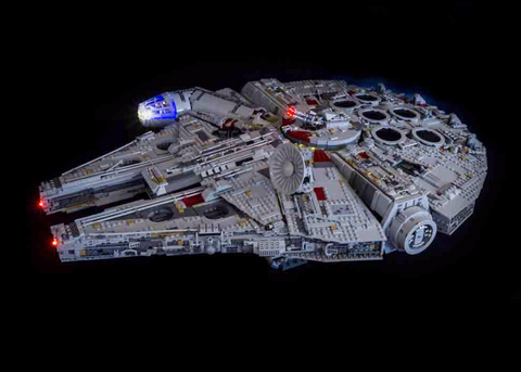 LEGO Star Wars UCS Millennium Falcon 75192 Light Kit (LEGO SET ARE NOT INCLUDED )