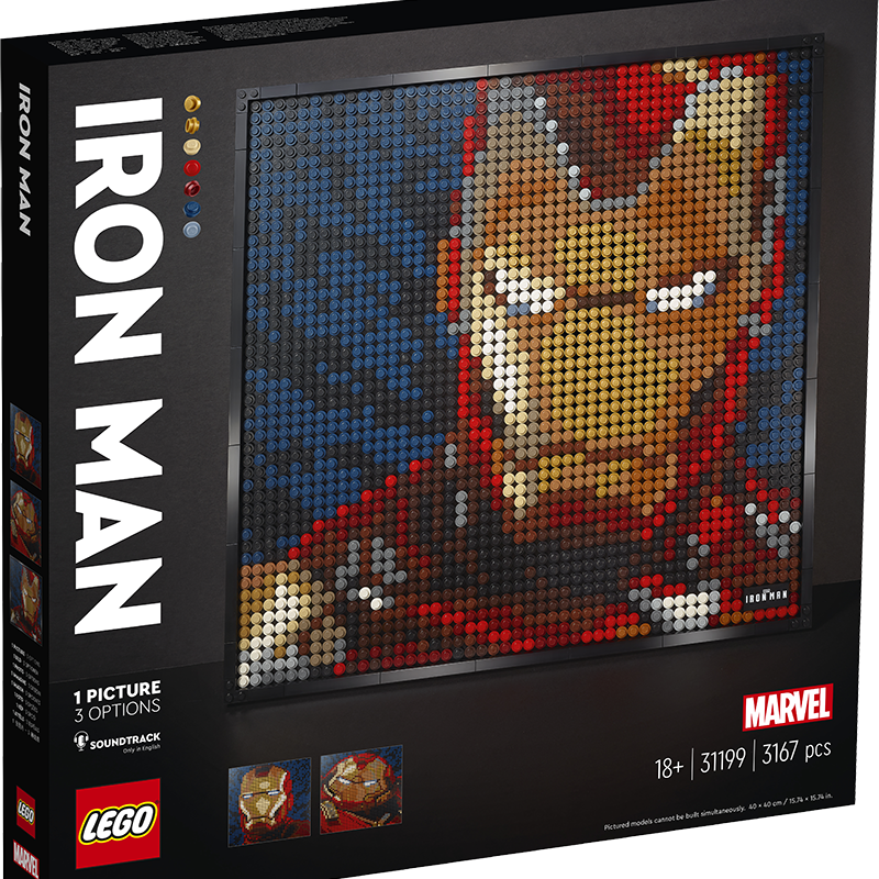 LEGO® Art 31199 Marvel Studios Iron Man - My Hobbies