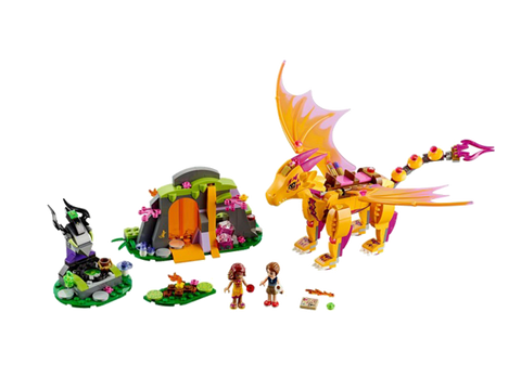 LEGO 41175 Elves Fire Dragon's Lava Cave