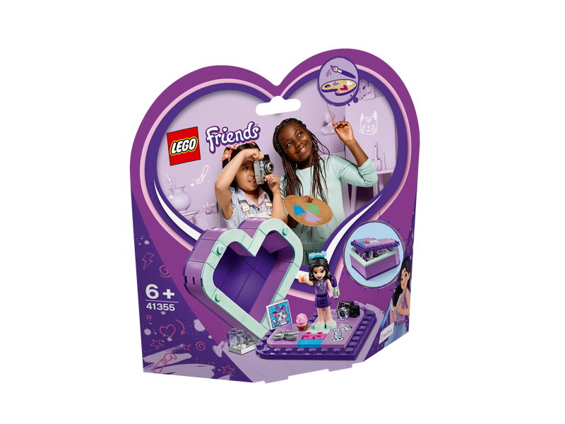 LEGO® 41355 Friends Emma's Heart Box
