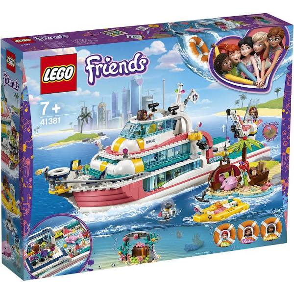 LEGO® 41381 Friends Rescue Mission Boat - My Hobbies