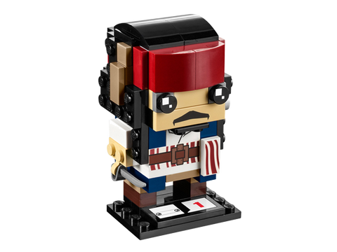LEGO 41593  BrickHeadz Captain Jack Sparrow