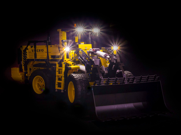 LEGO Volvo L350F Wheel Loader 42030 Light Kit (LEGO Set Are Not Included ) - My Hobbies