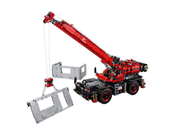 LEGO® 42082 Technic™ Rough Terrain Crane - My Hobbies