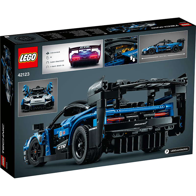 LEGO® 42123 Technic™ McLaren Senna GTR™ - My Hobbies