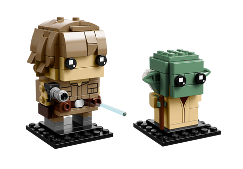 LEGO 41627 BrickHeadz Luke Skywalker™ & Yoda™