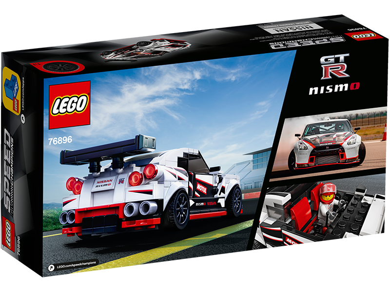LEGO® 76896 Speed Champions Nissan GT-R NISMO - My Hobbies