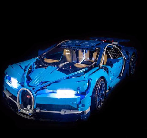 LEGO Bugatti Chiron 42083 Light Kit (LEGO SET ARE NOT INCLUDED )