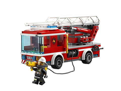 LEGO 60107 City Airport Fire Ladder Truck