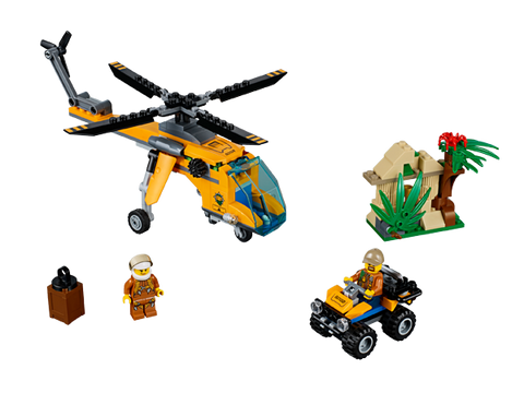 LEGO 60158 City Jungle Cargo Helicopter