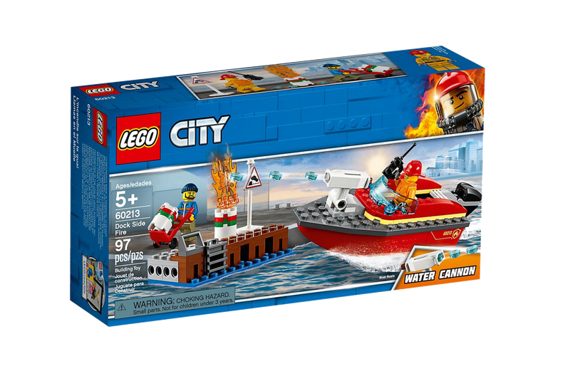 LEGO® 60213 City Dock Side Fire - My Hobbies