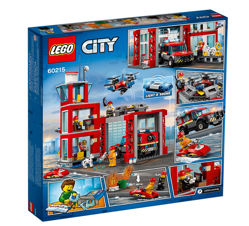 LEGO® 60215 City Fire Station - My Hobbies