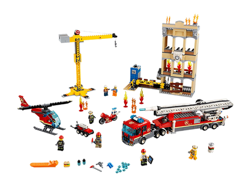 LEGO 60216 City Downtown Fire Brigade