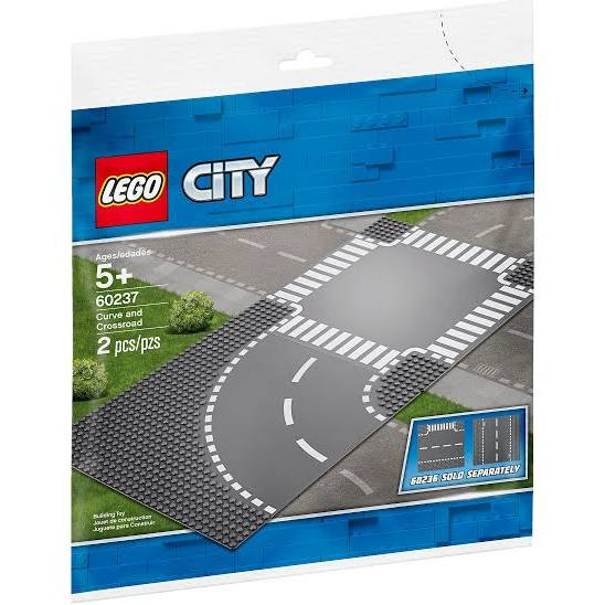 LEGO® 60237 City Curve and Crossroad - My Hobbies