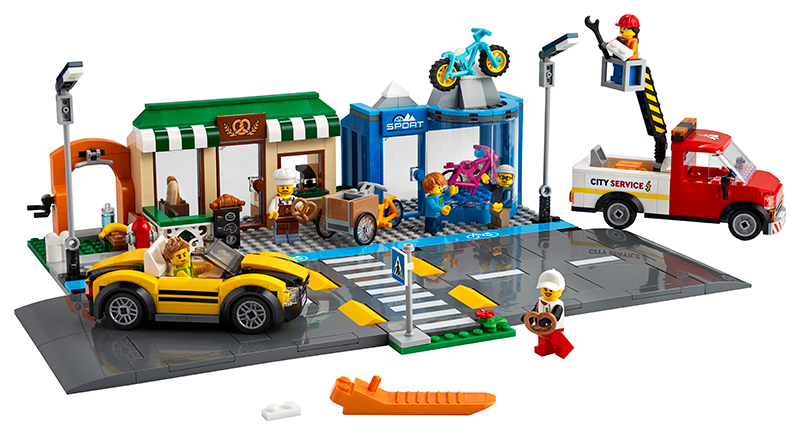 LEGO® 60306 Shopping Street - My Hobbies
