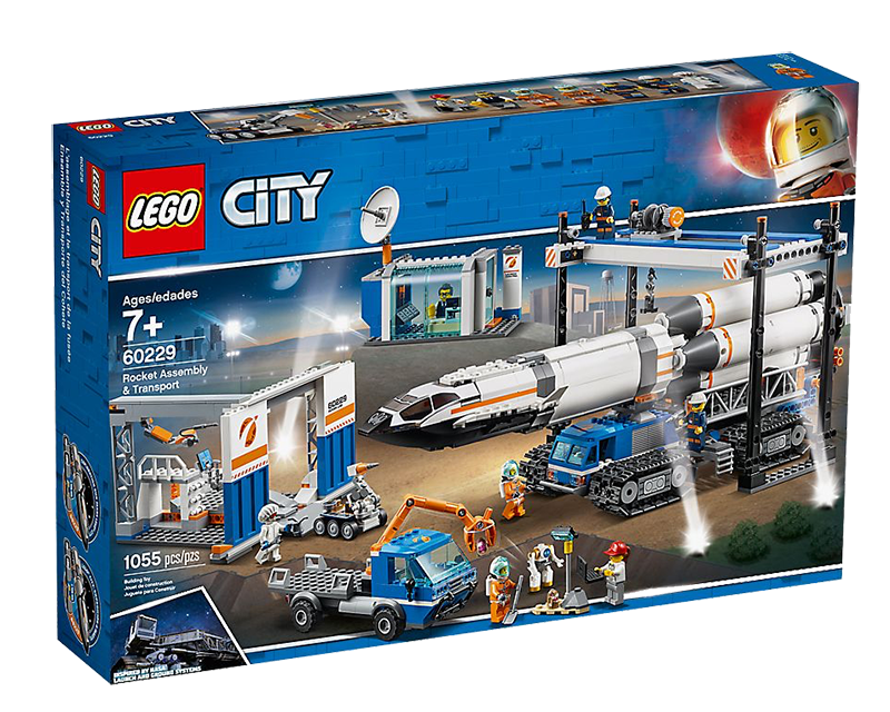 LEGO® 60229 City Rocket Assembly & Transport - My Hobbies