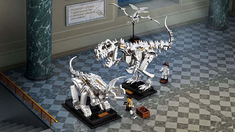 LEGO® 21320 Ideas Dinosaur Fossils - My Hobbies