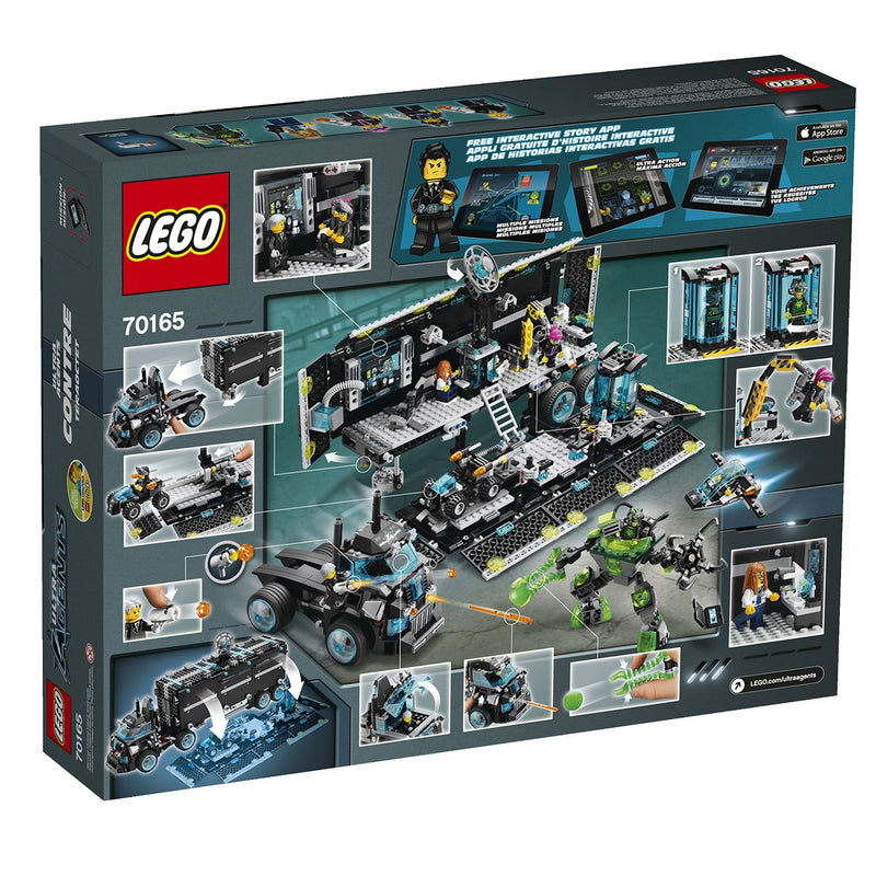 LEGO 70165 Ultra Agents Mission HQ - My Hobbies