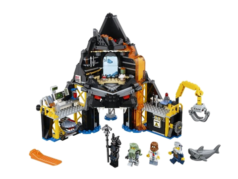 LEGO 70631 NINJAGO Movie Garmadon's Volcano Lair