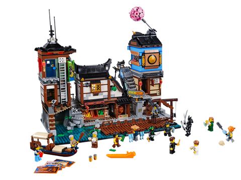 LEGO 70657 NINJAGO  City Docks