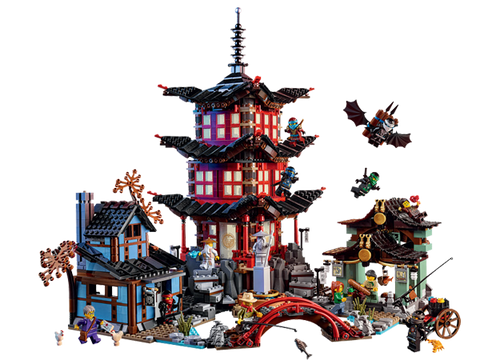 LEGO 70751 NINJAGO Temple of Airjitzu