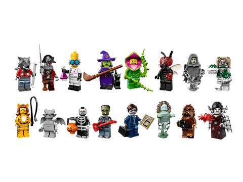 LEGO 71010 Minifigures Series 14 Monsters Complete Set