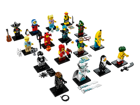 LEGO 71013 Minifigures Series 16 Complete Set