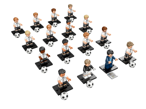 LEGO 71014 German National Football Team Complete Set