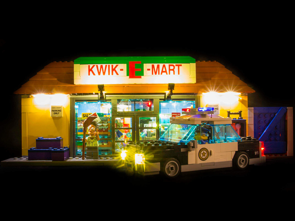LEGO Kwik-E-Mart 71016 Light Kit (LEGO Set Are Not Included ) - My Hobbies