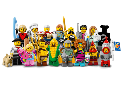 LEGO 71018 Minifigures Series 17 Complete Set