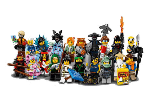 LEGO 71019 Minifigures THE LEGO® NINJAGO® MOVIE™ Complete Set of 20