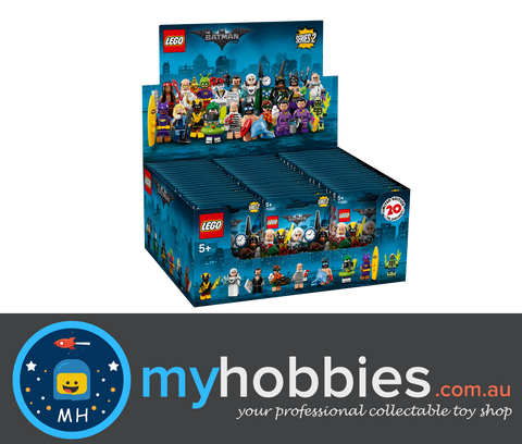 LEGO 71020 Batman movie minifigures Series 2 Full Box