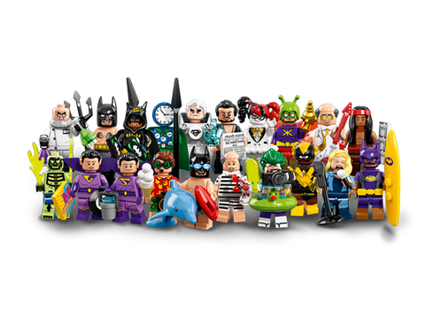 LEGO 71020 Batman movie minifigures Series 2 Complete Set