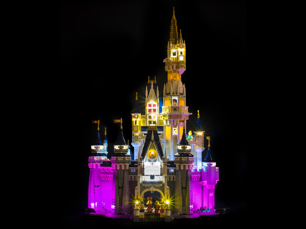 LEGO Disney Castle 71040 Light Kit (LEGO Set Are Not Included ) - My Hobbies