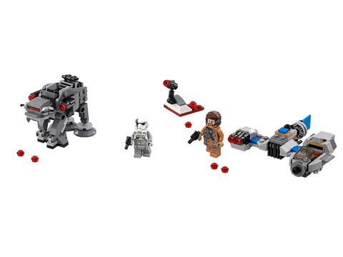 LEGO 75195 Star Wars Ski Speeder™ vs. First Order Walker™ Microfighters