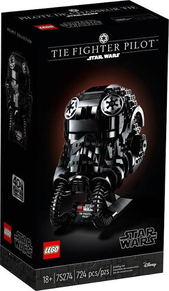 LEGO® 75274 Star Wars™ TIE Fighter Pilot™ Helmet